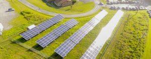 Solar array in Ascutney, VT