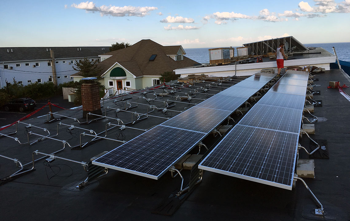 Edgewater, Orchard Beach, ME Solar PV Project